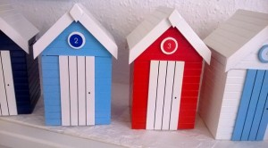 Recycling wood Moneyboxes
